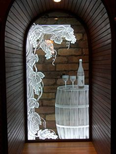 Etched and Carved Glass Product - SGO Designer Glass