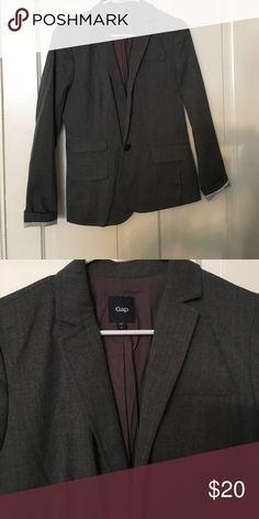 Gap Blazer Gray Gap Blazer. Excellent condition. Size 4 GAP Jackets & Coats Blazers
