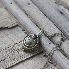 Elena Vervain silver Locket necklace  The Vampire Diaries inspired Rebecca locket jewelry