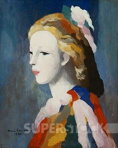 Francine Bessy. Marie Laurencin (1885-1956). Oil on canvas. Painted in 1936. 43.2 x 35.5cm.