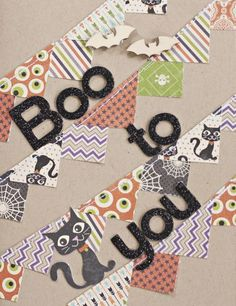 Boo To You Card by Katie Rose