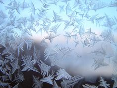 Frost on the window of my grandparents house | These frost p… | Flickr