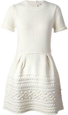 RED Valentino patterned knit dress on shopstyle.com