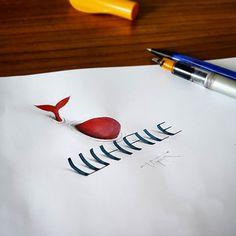 3D Calligraphy by Tolga Girgin - Art People Gallery