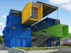 35 Top Shipping Container Home Designs , Do not buy a delivery container till you understand how to insulate the container. In addition, shipping containers are produced to withstand pressure. Container Architecture, Container Buildings, Eco Architecture, Industrial Architecture, Shipping Container Office, Used Shipping Containers, Container Conversions, Casas Containers, Sea Containers