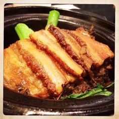 Braised pork with preserved vegetable. One of the best comfort food in winter