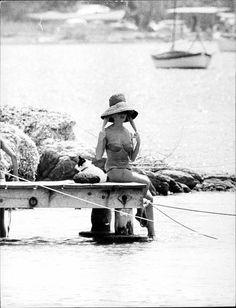 Brigitte Bardot in St Tropez, 1961