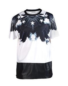 DECIBEL STARS AND EAGLES TEE WITH PU BOTTOM - That should be mine!