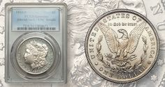 The 1892-S Morgan dollar is rare in Mint State and this one, graded Uncirculated…