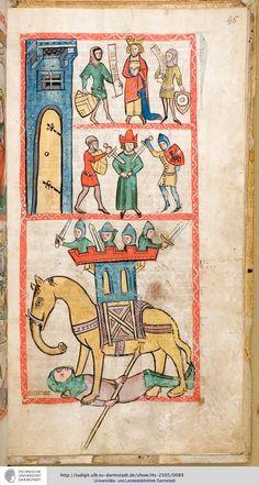 Speculum humanae salvationis - 1360 illuminated manuscript, full images on this site!!!!