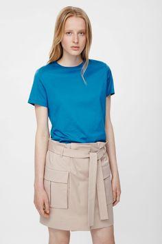 COS | Tie-waist cotton skirt