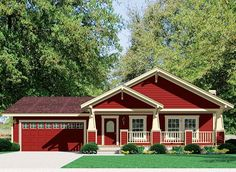 Craftsman Elevation w/garage - this is the house i've been dying for for a few years now... just need the money and some land to build it!!