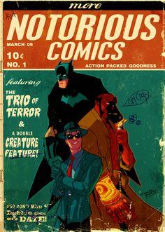 The Trio of Terror by MattKaufenberg