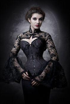 Gothic corset, love it!