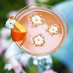 Découvrez la recette Cocktail Springtime sur cuisineactuelle.fr.
