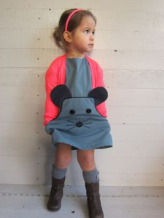 Compagnie-M_Louisa_dress_toertjes_pateekes_mouse_3 by Compagnie M., via Flickr Ahhhhh! ADORABLE!