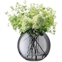 Display small sprigs to large headed floral bouquets in style with LSA International's Polka vase range in zinc. Available in two sizes, this zinc grey hand-painted vase has been mouth-blown by arti Summer Flowers, Fresh Flowers, Flower Vases, Flower Art, Colored Vases, Grey Home Decor, Vase Fillers, Contemporary Home Decor, Arte Floral
