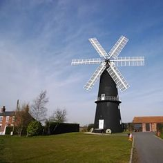 Spring Day - Windmill, Lincolnshire, England