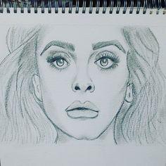 Adele, Sketch.