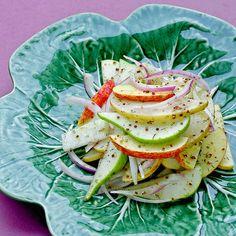 apple pear radish salad