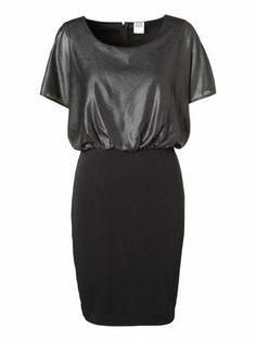 OILIA S/S SHORT DRESS #veromoda #dress #shine #party #fashion @Veronica MODA