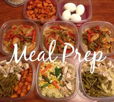 Meal prep and food prep for the week!