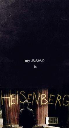 Breaking Bad - My Name is Heisenberg Breaking Bad Tv Series, Breaking Bad 3, Walking Bad, Mejores Series Tv, Cinema, Heisenberg, Say My Name, Walter White, Book People