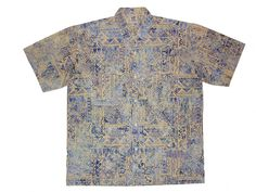 Tapa Tapa - 100% cotton button up Hawaiian style shirts represented by Human Arts Gallery in Ojai, CA.
