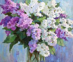 Julia Nepokrytaya, «Lilac », oil, canvas,50х60
