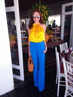 Look do dia #lunchcarollobato    por Mariana de Moraes | Alameda 13       - http://modatrade.com.br/look-do-dia-lunchcarollobato