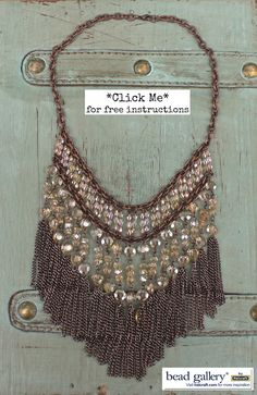 Make your own DIY Boho Bling Necklace with #BeadGallery beads from @MichaelsStores #madewithmichaels