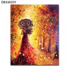 Pintura al /óleo de DIY por N/úmeros Madera enmarcada Pintura por N/úmero de Kits Ballet 16*20 Inch.