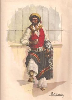 poncho  antiguo