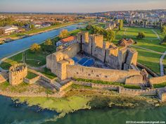 Medieval fortified city in Smederevo, Serbia.