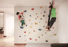 Image 12 of 28 from gallery of Puerto de Palos House / jfs arquitecto. Photograph by Maria Gonzalez Javier Salazar, Garden Playhouse, Amazing Architecture, Play Houses, Playground, Playroom, Kids, Gymnastic Rings, Climbing Wall