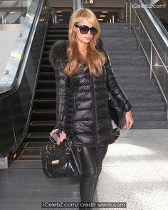 A Fashionable Paris Hilton Arrives at LAX http://www.icelebz.com/events/a_fashionable_paris_hilton_arrives_at_lax/