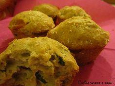 muffins alle zucchine e speck