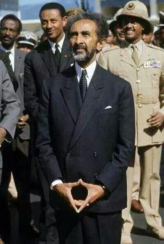 Emperor of Africa. Regent of Ethiopia Haile Selassie.