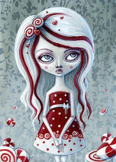 ☆ Young PennyPeppermintゝ。Artist Megan Majewski ☆