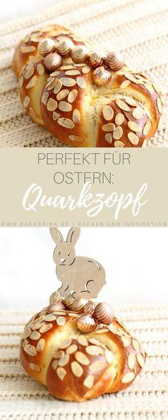 Einfaches und schnelles Quarkzopf Rezept: Ein super Rezept für Ostern oder das ganze Jahr über zum Frühstück. Magst du einen guten Hefezopf? Dann wirst du diesen fluffigen Quarkzopf lieben! Probiere dieses und weitere Rezepte gleich aus!