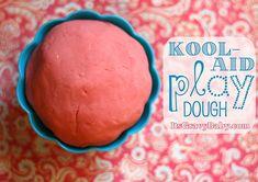 Kool-aid Playdough!