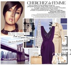 """Purple-ish"" by warna ❤ liked on Polyvore"