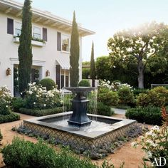 courtyard fountain - Google Search