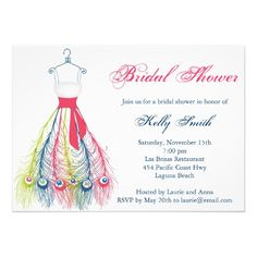 Best Colorful peacock bridal shower invitations In our offer link above you will seeShoppingtoday easy to Shops & Purchase Online - transferred directly secure and trusted checkout. Wedding Shower Invitations, Invites, Invitation Design, Special Day, Gowns, Elegant, Colorful, Party, Unique