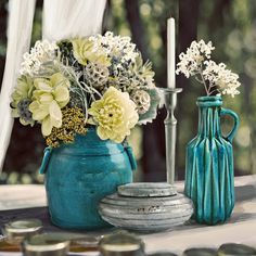 🌿🌼Let me invite you in the land where Turquoise is the colour of your thoughts, where flowers grow on your heart like a forest contaminates the world. ☘🌍