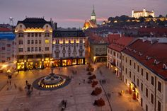 Bratislava, Slovakia (by pxls.jpg) - Bratislava, Slovakia (by pxls. Places To Travel, Travel Destinations, Places To Visit, Bratislava Slovakia, Destination Voyage, The Beautiful Country, By Train, Central Europe, Eastern Europe