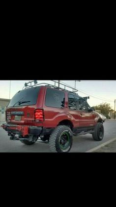 Lifted Ford Explorer, Ford Explorer Sport, 4x4 Off Road, Vroom Vroom, Jeeps, Rigs, Offroad, Dodge, Project Ideas