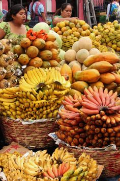 Guatemalan Fruits Market