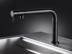 Download the catalogue and request prices of Nemo r/rs By mgs, countertop stainless steel kitchen mixer tap, nemo Collection
