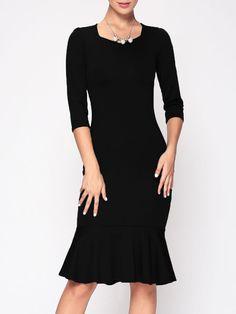 Fabulous Sweetheart With Belt Bodycon-dress